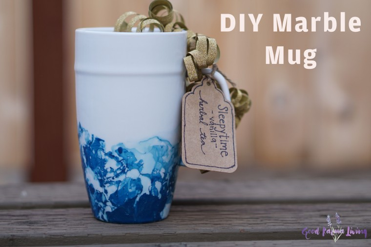 DIY Marble Mug