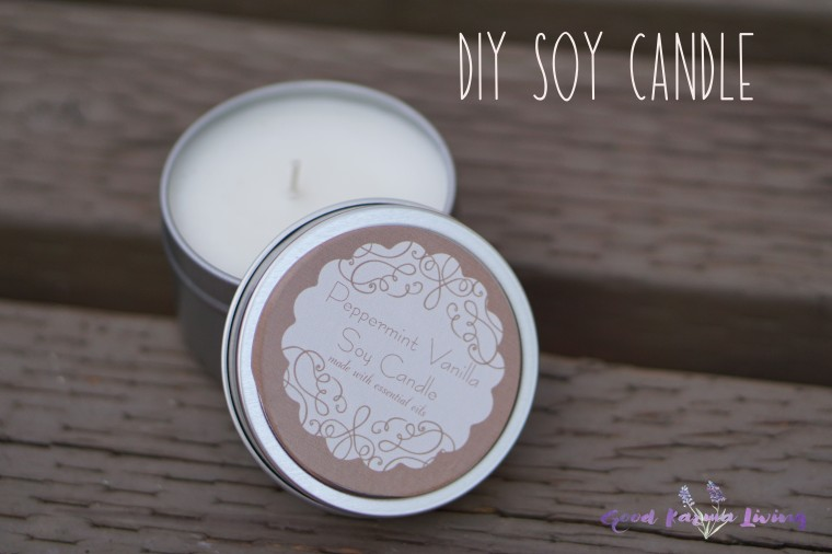 DIY Soy Candle 2